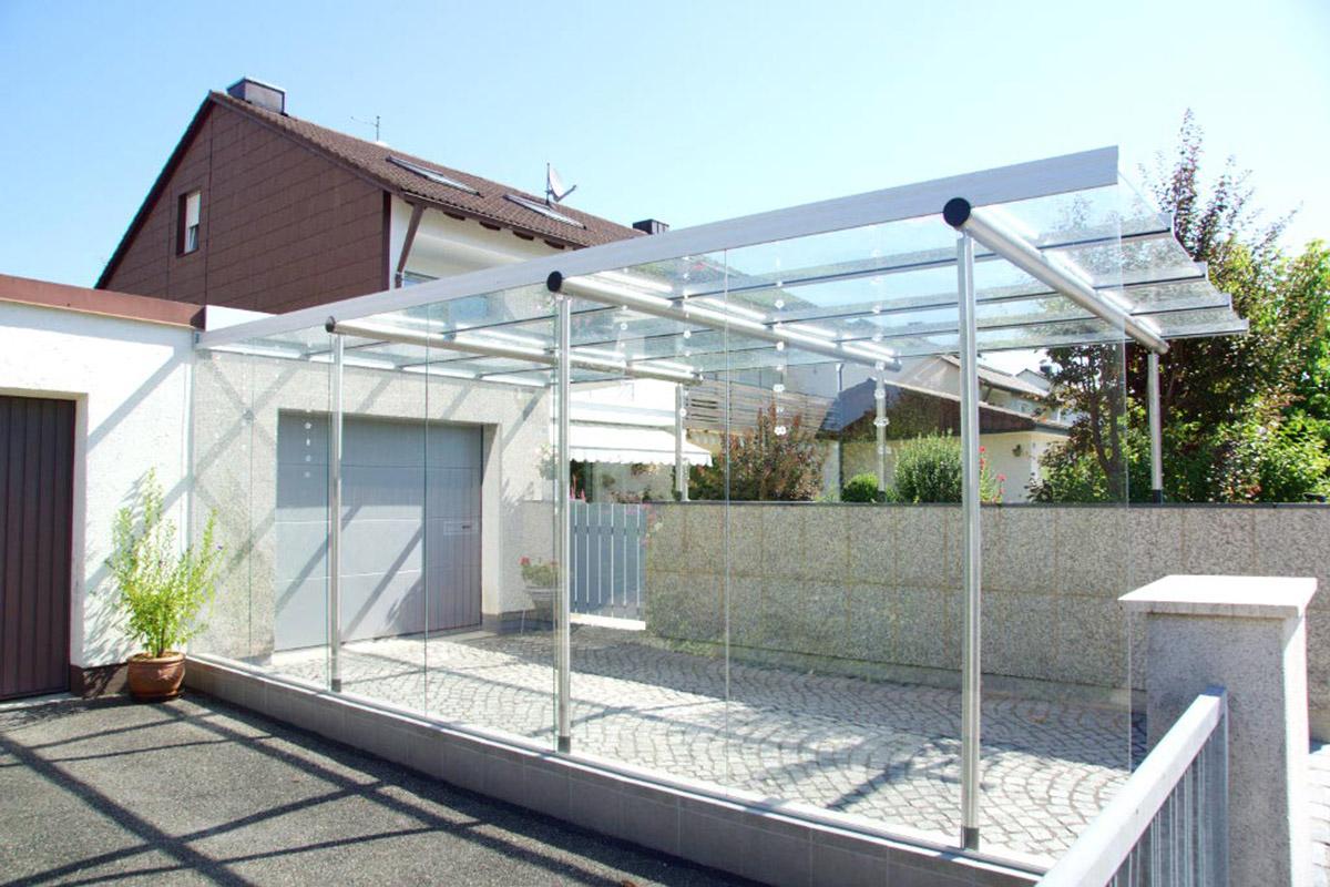 glas carport f r m nchen und augsburg mwk gmbh. Black Bedroom Furniture Sets. Home Design Ideas